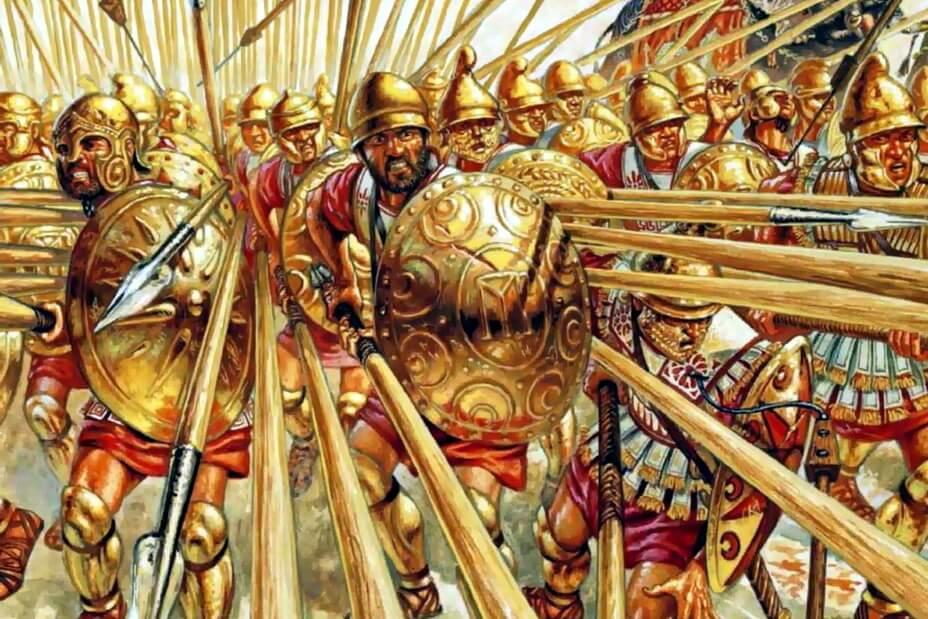 Сильні сторони македонської фаланги