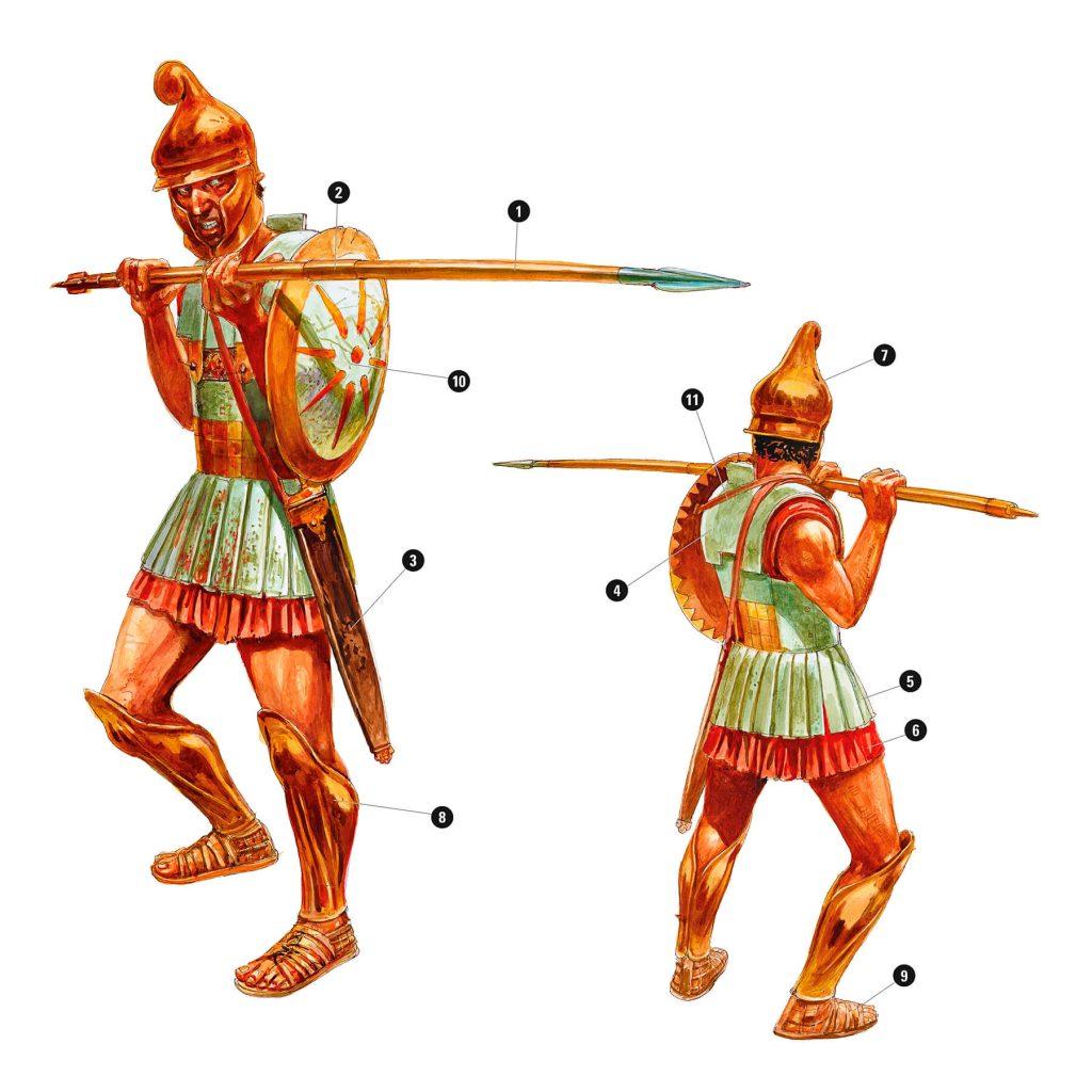 Воїн македонської фаланги Олександра Великого