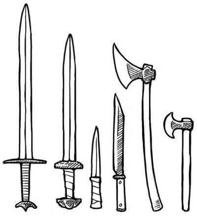 Оружие англосаксов и викингов