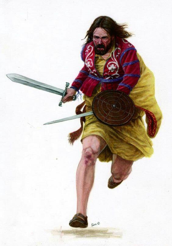 ирландский воин керн