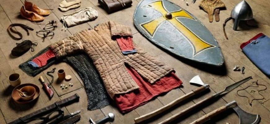 Англосаксонское оружие хускарла в битве при Гастингсе, фото реконструкции