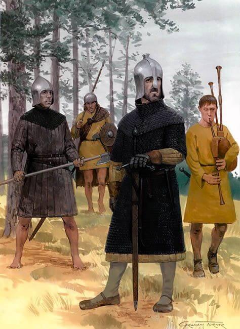 Отряд ирландских и шотландских наемников