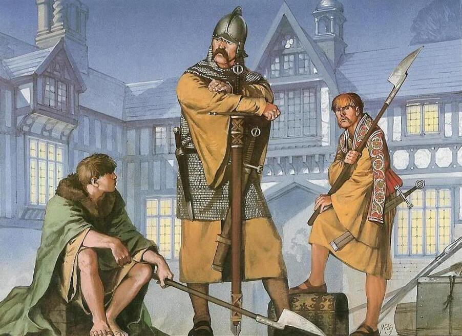 Галлоглас и керны, отряд Спарр