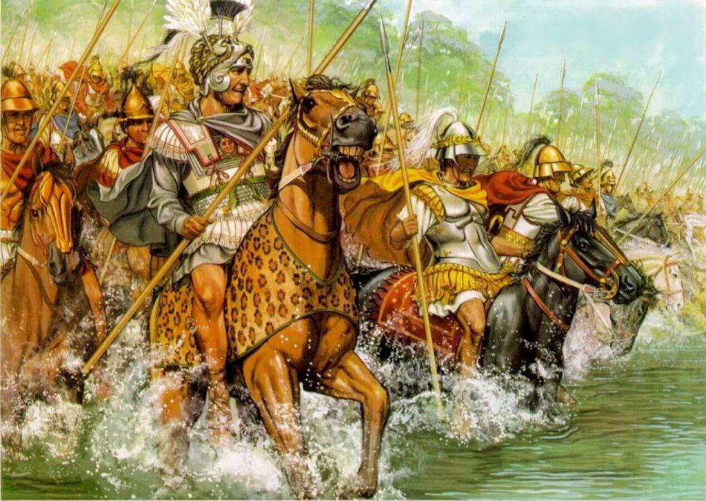 Битва при Гранике - атака Александра Македонского