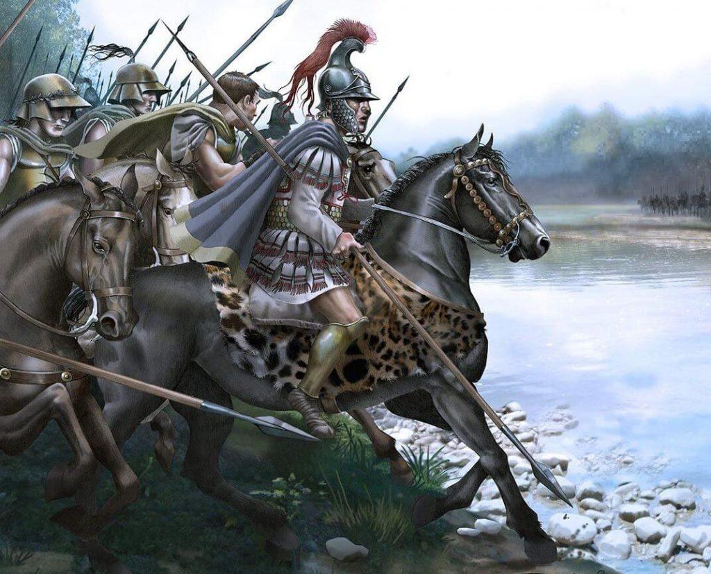 Александр Макеонский в битве при Гранике