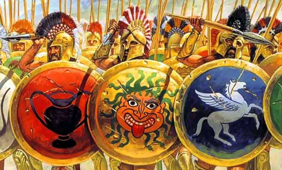 Гоплиты и греческая фаланга