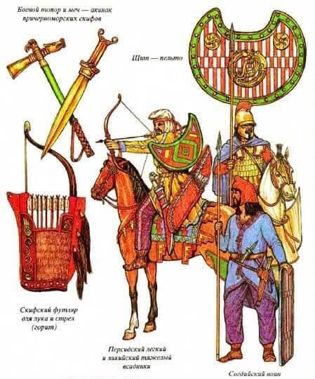 Оружие персов в Битве при Гранике