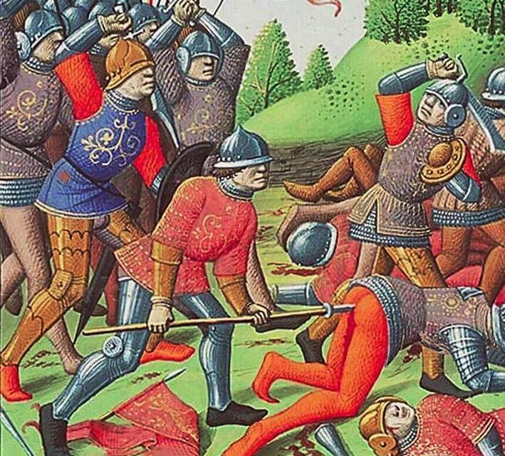 Альшпис рисунок средних веков
