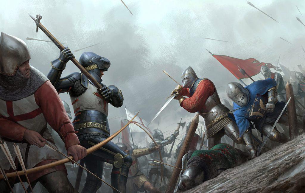 битва люцернским молотом Азенкур, 1415 год