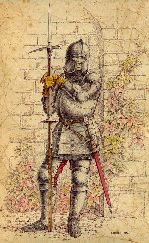 Піхотинець з люцернським молотом